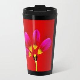 deconstructed tulip Travel Mug