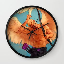 is this wings oh my god i HATE MAGIC Wall Clock