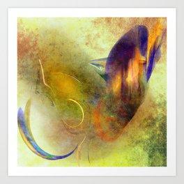 Fractal Design and Texture Art Print