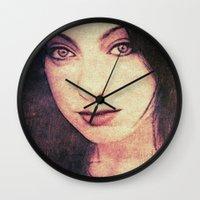 siren Wall Clocks featuring Siren by Sirenphotos