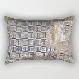 Old Greece House Rectangular Pillow