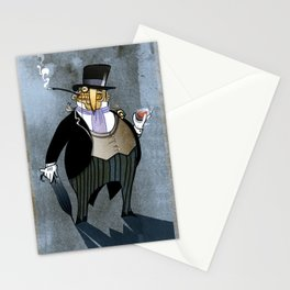 the penguin Stationery Cards