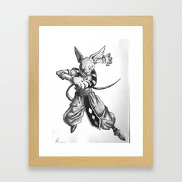 Beerus Framed Art Print