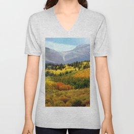 Colorado Landscape Unisex V-Neck