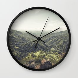 Edge of World Wall Clock