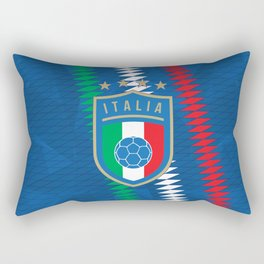 Italy Football Rectangular Pillow