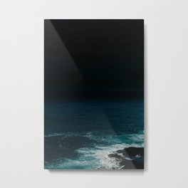 Space Planet Metal Print