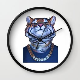 Misha Tiger Wall Clock