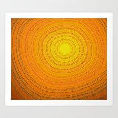 Soul energy Art Print