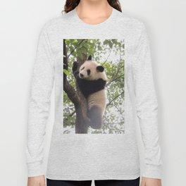 Chongqing Baby Giant Panda | Bébé Panda géant Long Sleeve T-shirt