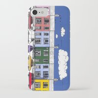 marc johns iPhone & iPod Cases featuring St Johns Terrace, Lewes by Richard Ellis