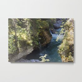 The Calm in the Canyon Metal Print
