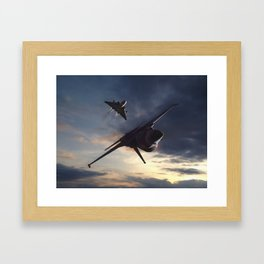 Morning Aerob(at)ics Framed Art Print