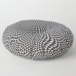 TESSELATION ABYSS Floor Pillow
