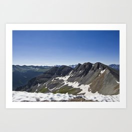 Turk Peak, Silverton, CO Art Print