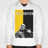 taxi driver Hoodies featuring Travis Bickle Taxi Driver by Maxim Garg