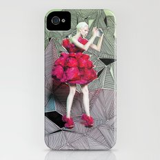 Alexander McQueen Doodle Bomb by Downtown Doodler iPhone (4, 4s) Slim Case