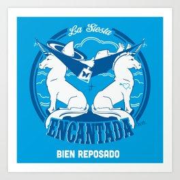 La Siesta Encantada, Bien Reposado • The Best Tequila TShirt! Art Print