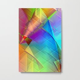 Multicolored abstract no. 56 Metal Print