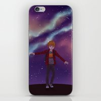 star lord iPhone & iPod Skins featuring My little Star-Lord by MaliceZ