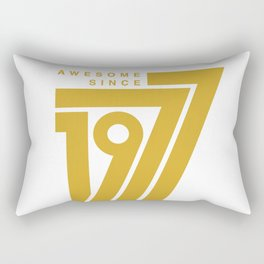 Awesome Since 1977 Rectangular Pillow