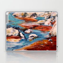 Forrest Moses Interpretation New Mexico acrylics on canvas board Laptop & iPad Skin
