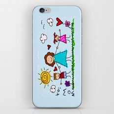 To Mom With Love iPhone & iPod Skin
