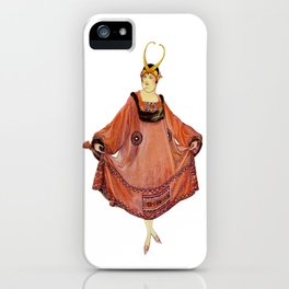 The Housecoat iPhone Case