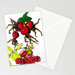 Autumn Fruits Stationery Cards
