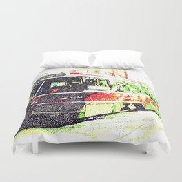 501 Street car Duvet Cover