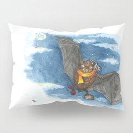 Little Worlds: Travel Bat Pillow Sham
