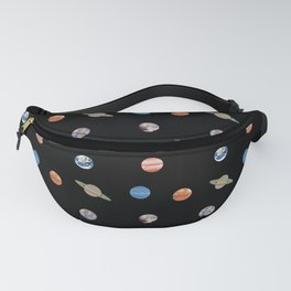 Planet Polka Dots Fanny Pack