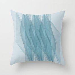 Twisted Lines Throw Pillow