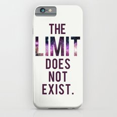 The Limit Does Not Exist - Mean Girls quote from Cady Heron Slim Case iPhone 6