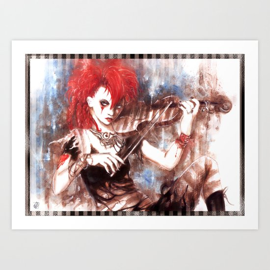 Emilie Autumn - Opheliac Art Print