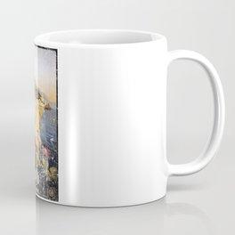 Vintage Travel Poster, Aged and Weathered - Amalfi Italy Coffee Mug