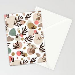 Vibrant colorful fall nature  Stationery Cards