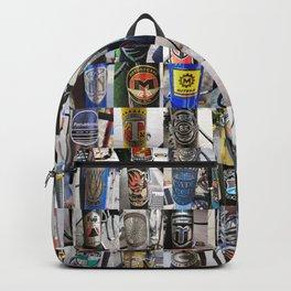 Bike Head Badges Backpack