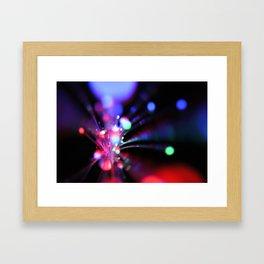 Light show I (original) Framed Art Print