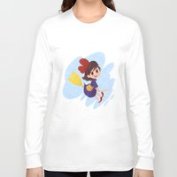 kiki Long Sleeve T-shirts featuring kiki delivery service by Ponchoart