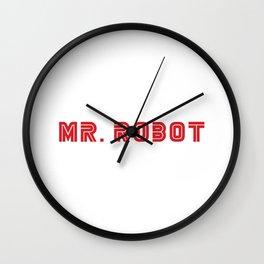 Mr Robot Wall Clock