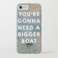 1975 iPhone & iPod Cases featuring Impression, Sunrise (1872), Claude Monet // Jaws (1975), Steven Spielberg by ArtCinema