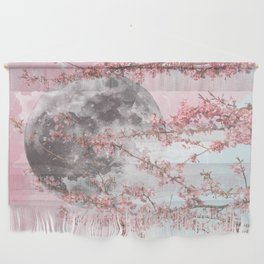 Spring Moon Wall Hanging