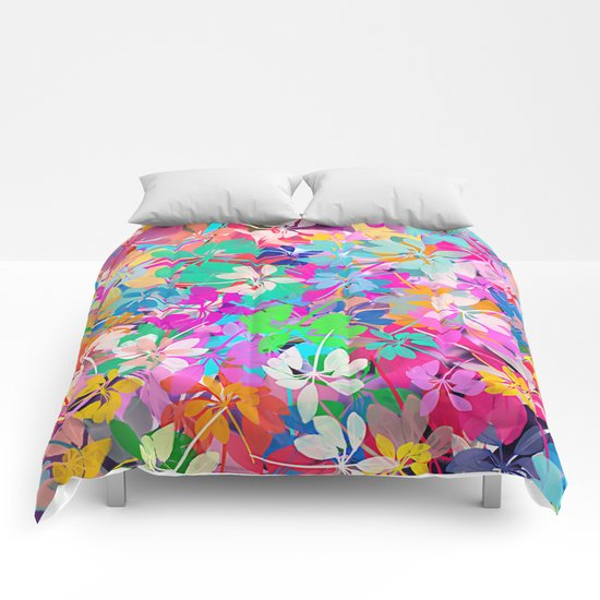 Floral abstract(47). Comforters