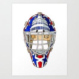 Beaupre - Mask 1 Art Print