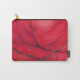 Red Jasper Mineral Carry-All Pouch