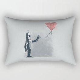 Binary Art Rectangular Pillow