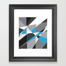 Geometrix 001 Framed Art Print