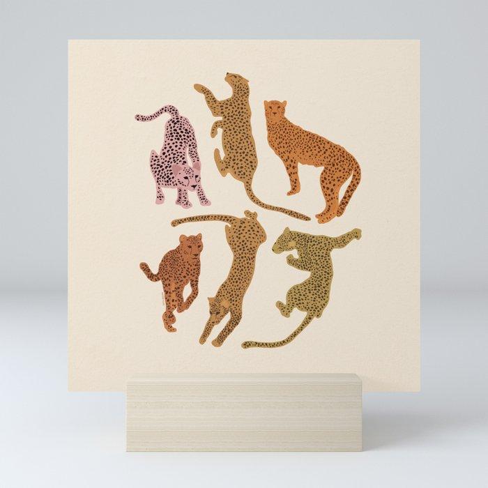 Adria Cheetahs Mini Art Print