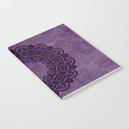 Circle in Purple Notebook